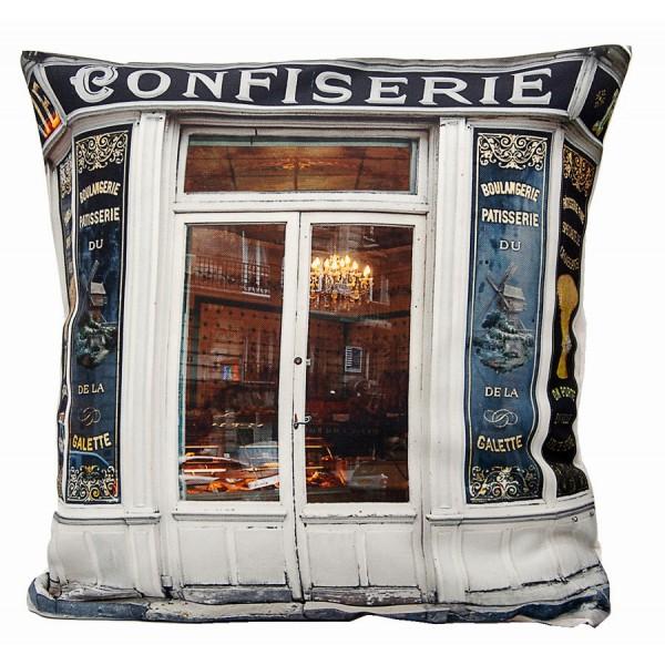 Housse de coussin Confiserie Boulangerie