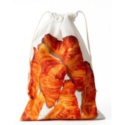 Croissants clutch bag