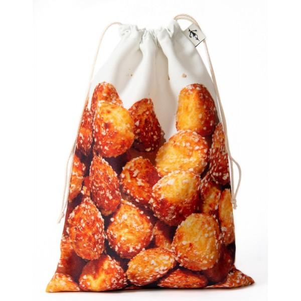 Chouquettes clutch bag