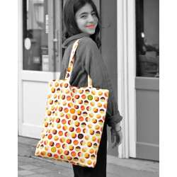 Graphic Vegetable tote bag Carrots