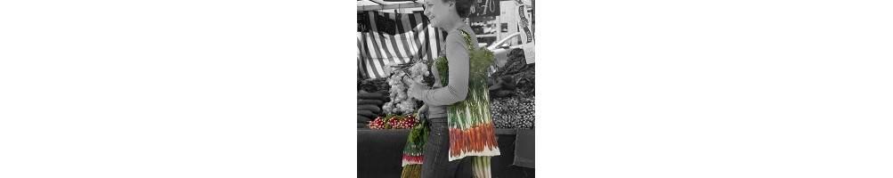 Strolling around the market